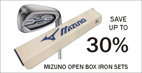 SAVE Up To 30% on Mizuno Open Box Iron Sets